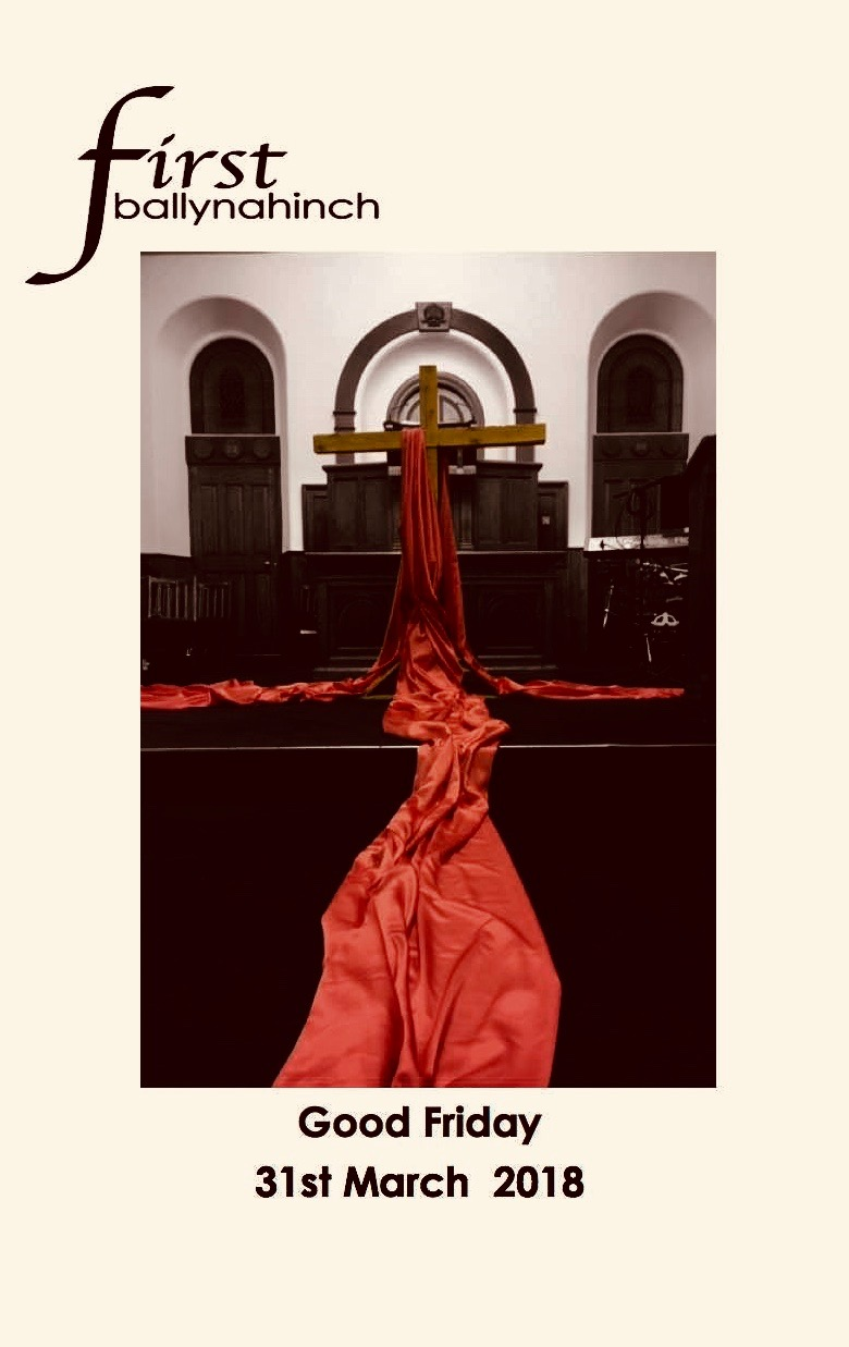 Good Friday Order of Service 2018 (1)